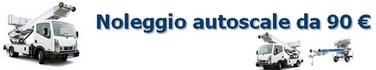 Noleggio autoscale Torino da 90 €