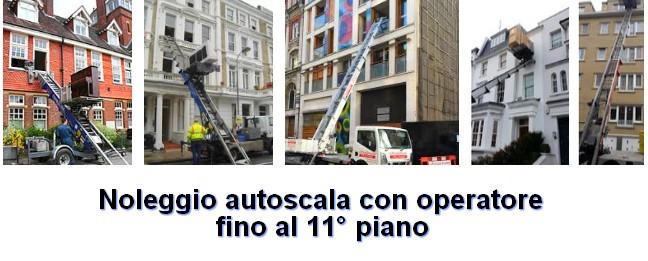 Noleggio autoscale Cavaglio-Spoccia